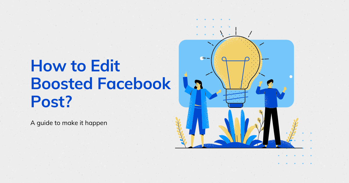 How to Edit Boosted Facebook Post